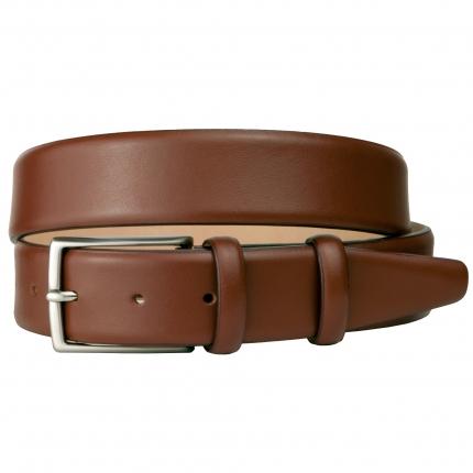 Cintura marrone in vitello