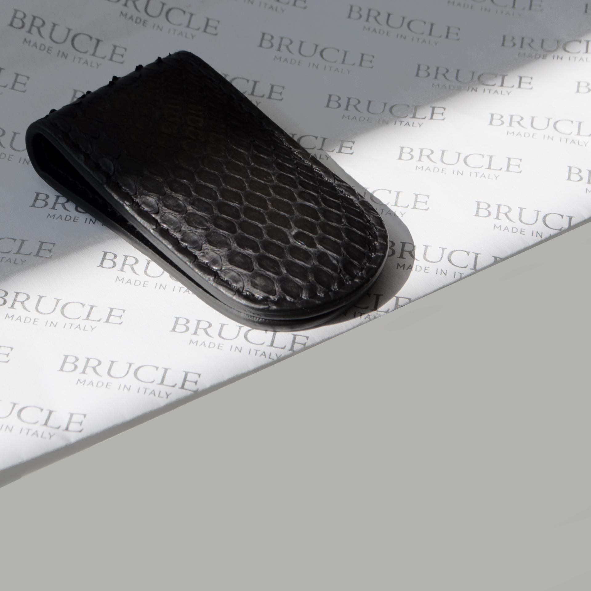 Python Money clip Black