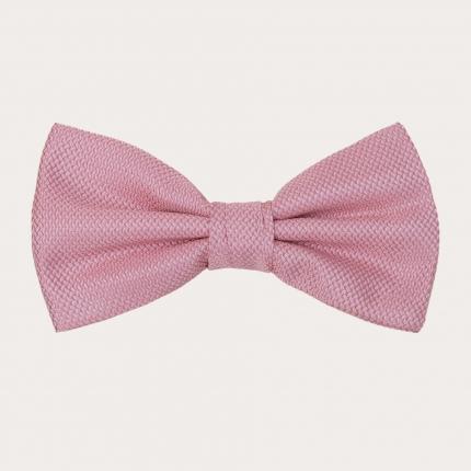 Silk Pre-tied Bow tie, pink