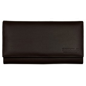 Women's Nappa Leather Zip Around Wallet Color Back