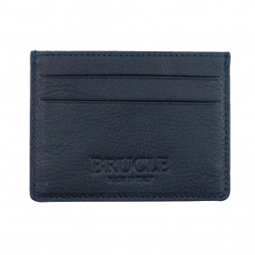 Brucle blue credit card holder