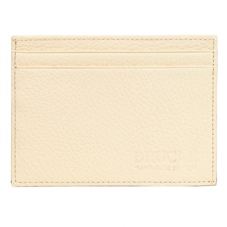 Brucle credit and business card holder white