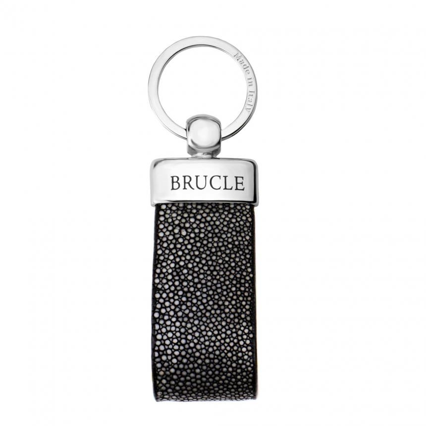 Classical key-ring genuin stingray leather