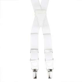 Braces Elastic X Suspenders white