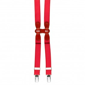 formal braces suspenders H red