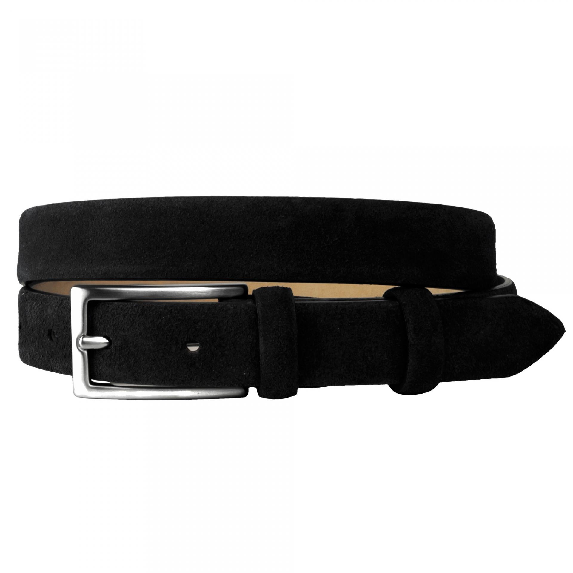 women belt suede black