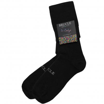 winter Socks men black
