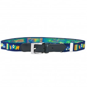 Kids belt blue cars