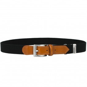 kids belt black