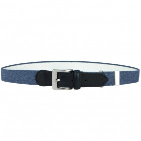 kids belt blue jeans