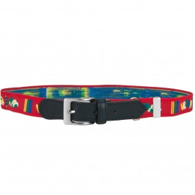 Kids belt red cars
