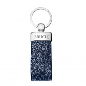 keyring blue stingray