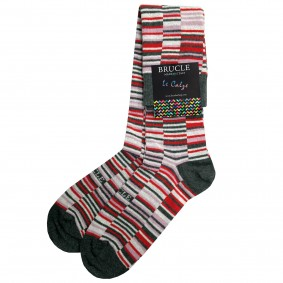 Chaussettes homme rayée