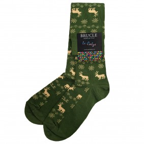 green socks christmas