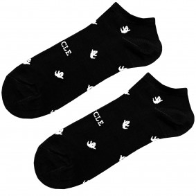 Ankle socks fantasmini black