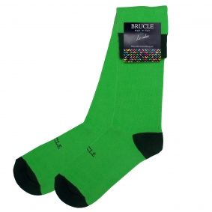 Fluo socks green