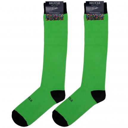 Fluo socken herren grün