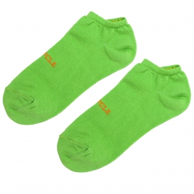 Ankle socks green fluo for men