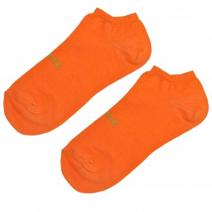 Söckchen herren fluo orange
