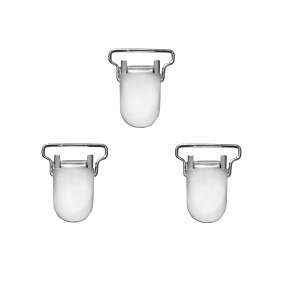 Set of small clips for braces suspenders- 3pcs