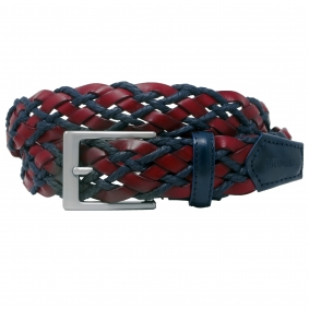 braided belt brucle