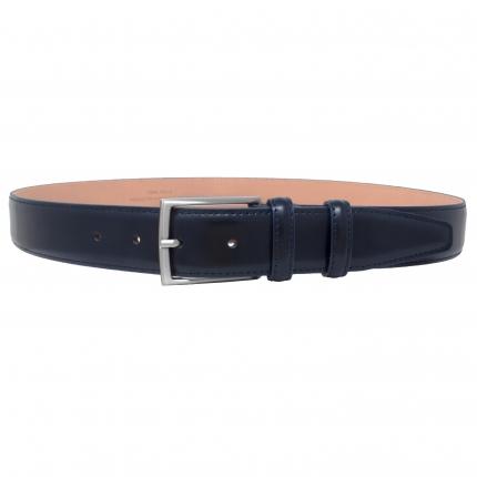 classic blue belt for men's