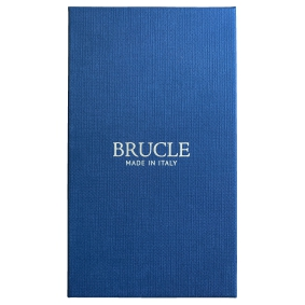 Bretelle uomo in tessuto tubolare puntaspillo blu navy