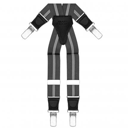 Hosenträger dunkelbraun X form