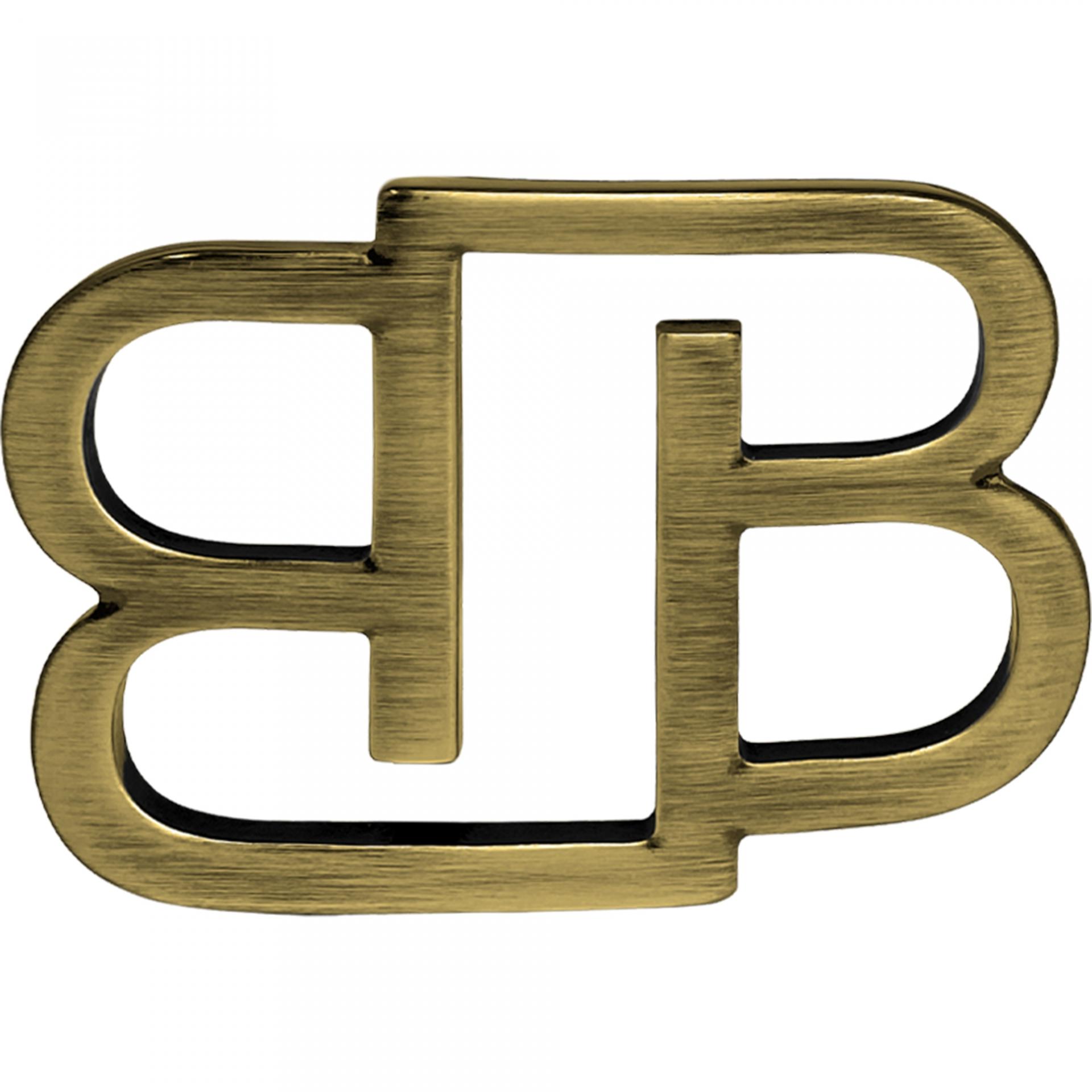 BB Buckle nickel free 35 mm, bronze satin
