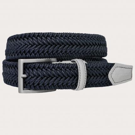 Elastik Gürtel blau
