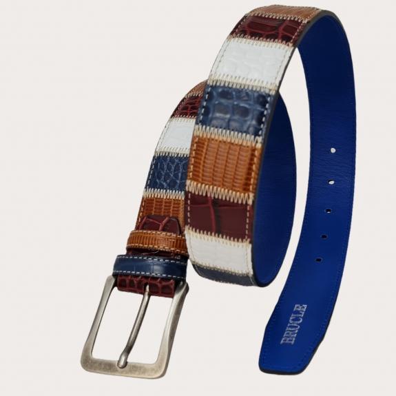 belt patchwork