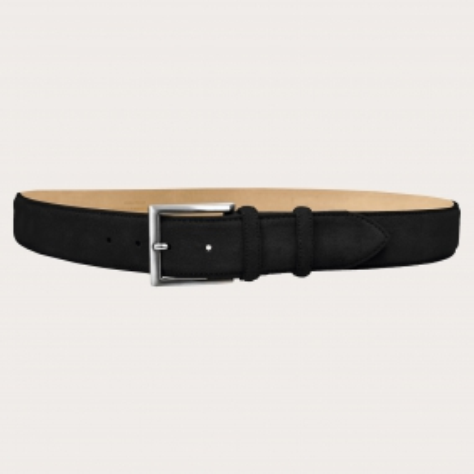 Brucle suede black belt