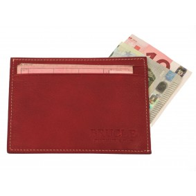 Credit card holder red