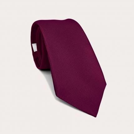 Brucle purple silk tie