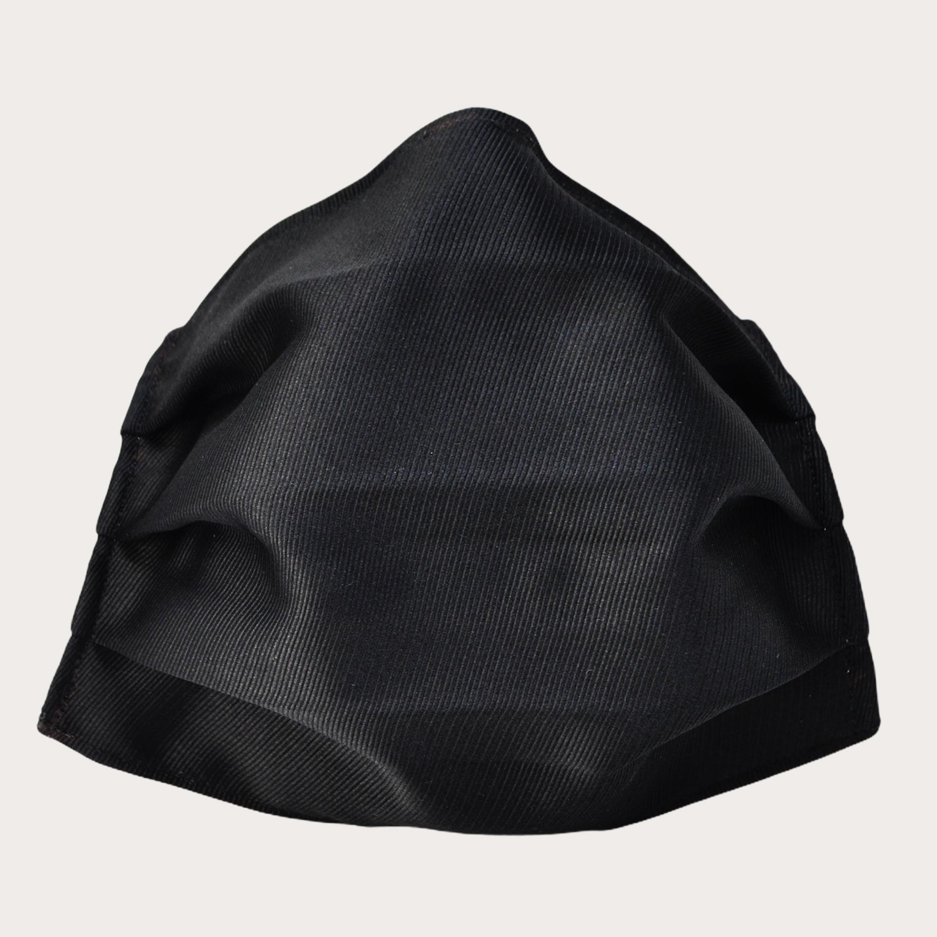 Schutzmaske stoffmaske schwarz