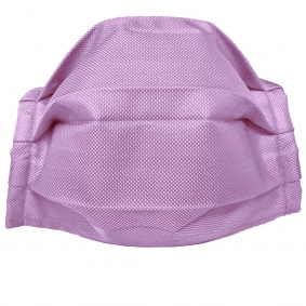 Masque filtrant lilas en soie, réutilisables