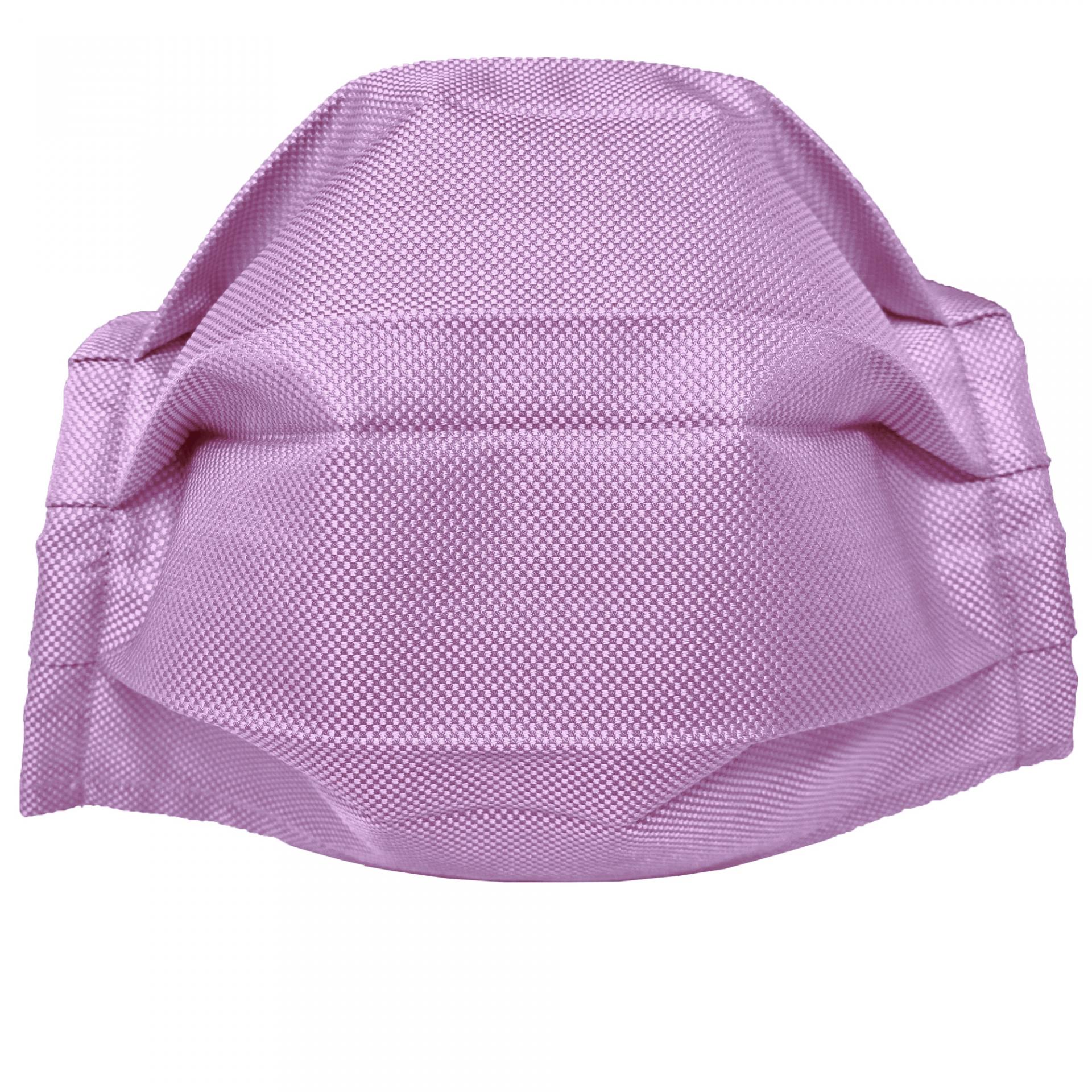StyleMask Mascherina facciale filtrante lilla in seta