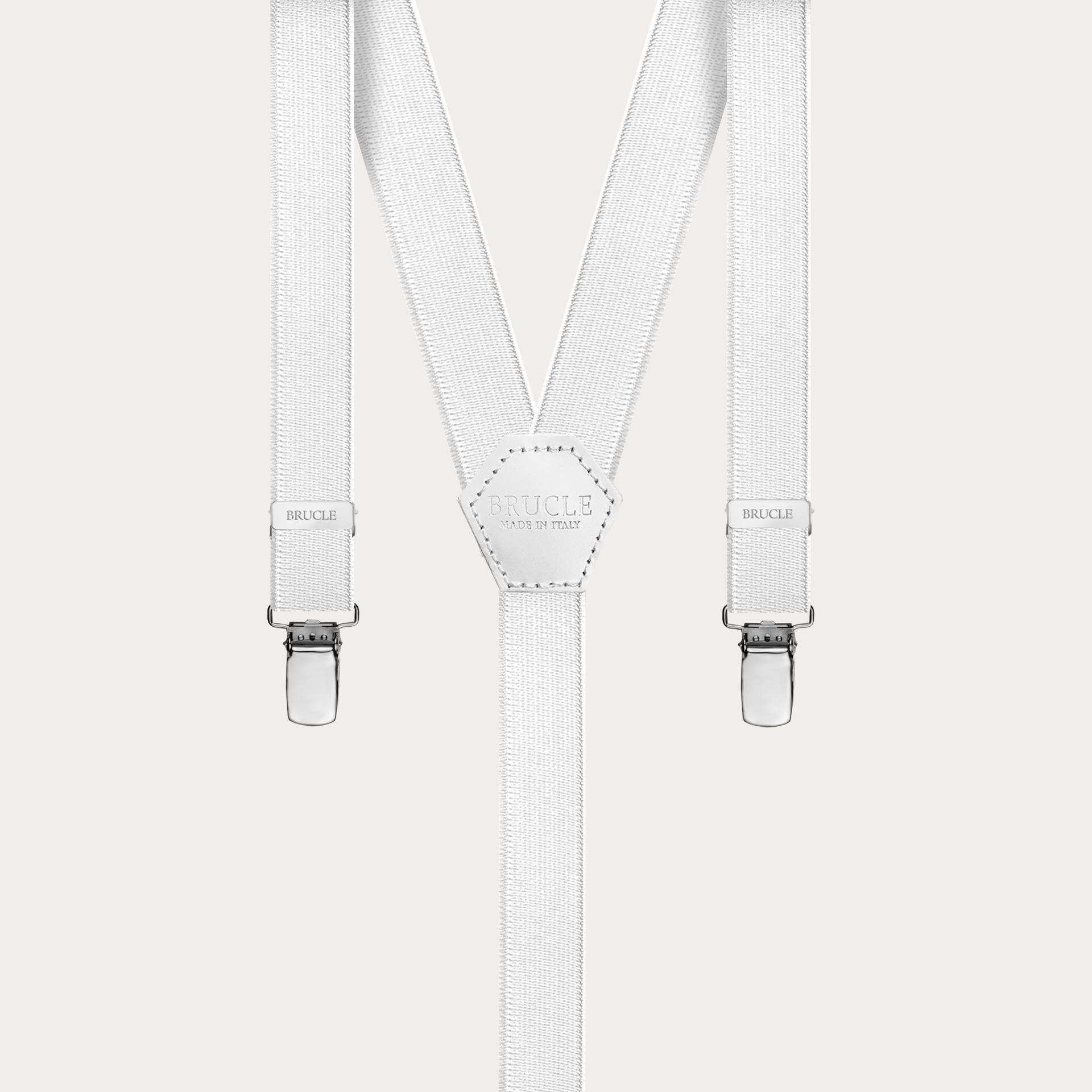 18mm formal braces white