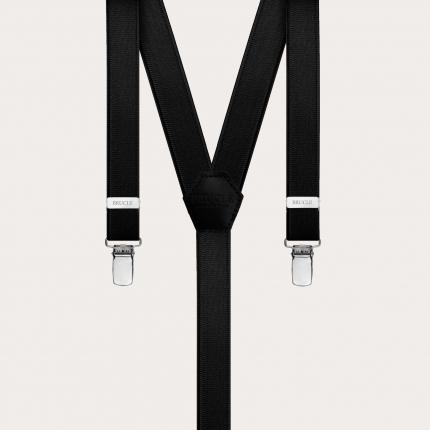 Braces suspenders kids black