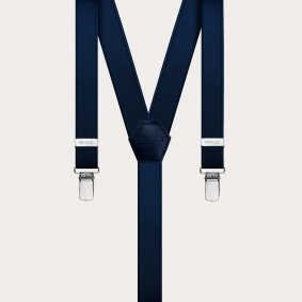 Formal Braces suspenders kids blue