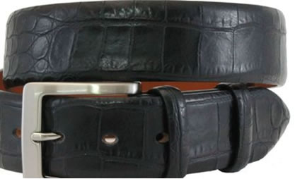 Cintura Brucle con stampa Coccodrillo